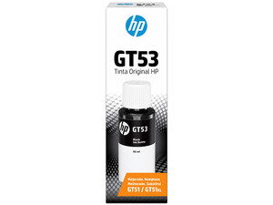 Botella de tinta original HP GT53, Color Negro (1VV22AL).