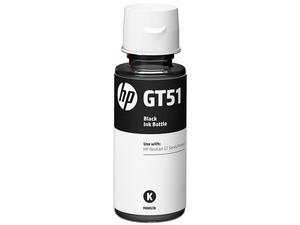 Botella de tinta original negra HP GT51 (M0H57AL).