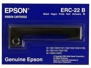 Cinta de Impresión Epson Negra, Modelo: ERC-22B.