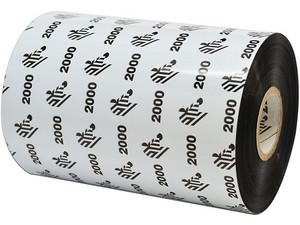 Cinta de transferencia térmica Zebra de 100mm x 450m.