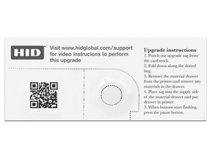 Módulo de Volteo HID, para activar módo dual en impresora DTC1500.