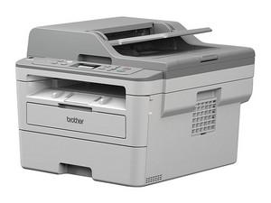 Multifuncional láser monocromática Brother DCP-B7535DW, Impresora, Copiadora, Escáner, Wi-Fi, USB.
