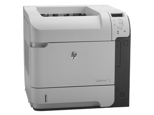 Impresora HP LaserJet Enterprise 600 M601n hasta 43ppm, 1200x1200 dpi, Ethernet, USB.