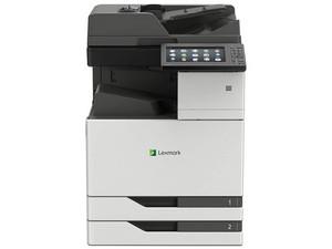 Multifuncional láser Lexmark CX921de, 1200x1200 dpi, Impresión a color, Copiadora, Escáner, Fax, Dúplex, Wi-Fi, Ethernet, USB.