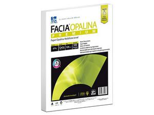 Papel Facia Opalina Tamaño Carta, 120gr, Paquete de 100 Hojas.