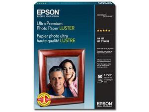 Papel Epson Fotográfico Luster S041405, Carta, 50 Hojas.