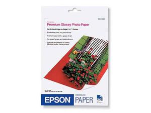 "Papel Epson Premium Glossy, 5\""x7\"", 20 Hojas"