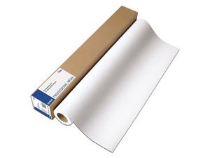 """Papel Epson de inyección de tinta 17\"""" x 100\"""", 240g. Color Blanco y acabado Mate."""
