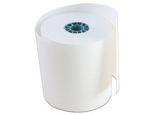 Rollo de papel térmico Roltec de 80 x 70 mm. Color Negro.