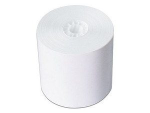 Rollo de papel bond PCM B7670, 76 x 70 mm. Color blanco.