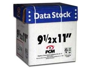 Papel Stock PCM, 9.5 x 11 pulgadas, 3 Tantos. Color Blanco.