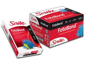 Papel Bond Scribe Tamaño Carta, Blancura 90%, Caja con 10 paquetes de 500 hojas.