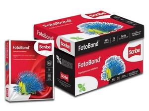 Papel Bond Scribe tamaño Carta, Blancura 95%, 75gr, Caja con 10 paquetes de 500 Hojas.