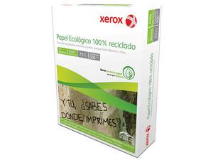 Papel Ecológico Xerox tamaño Carta, Blancura de 89%, 500 Hojas.