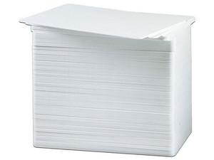 Tarjetas PVC Zebra para Impresoras, 30 milésimas (0.76mm). Color Blanco.