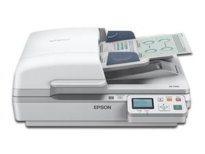 Escáner de cama plana Epson DS-7500, 48 bits, hasta 1200 dpi, con ADF.
