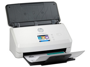 Escáner ADF HP ScanJet ProN4000 snw1, 600ppp, Wi-Fi, Ethernet, USB.