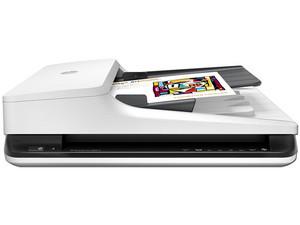 Escáner HP ScanJet 2500 f1, 1200x1200 dpi, USB 2.0.
