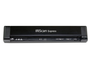 Escáner portátil IRIScan Express 4, 8 ppm, USB. Color Negro.