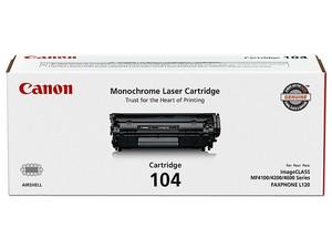 Cartucho de Tóner Canon Negro, Modelo: 0263B001BA.