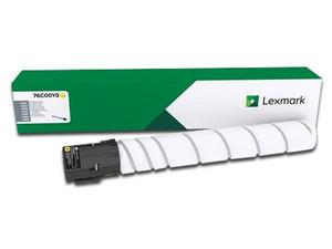 Cartucho de Tóner Lexmark Amarillo, Modelo: 76C00Y0.