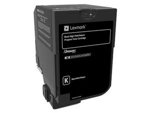 Cartucho de Tóner Lexmark CX725 Negro de Alto Rendimiento, Modelo: 84C4HK0.