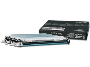 Fotoconductor Lexmark C53034X. Paquete con 4 piezas.
