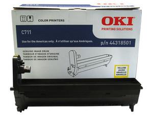 Unidad de Tambor Okidata C711 Amarillo. Modelo: 44318501.