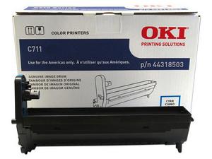 Unidad de Tambor Okidata C711 Cian. Modelo: 44318503.