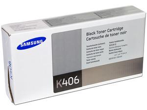 Cartucho de Tóner Samsung, Negro, Modelo: CLT-K406S.