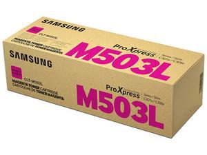 Cartucho de tóner Samsung, Magenta, Modelo: CLT-M503L/XAX