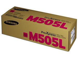 Cartucho de Tóner Samsung, Magenta, Modelo: CLT-M505L.