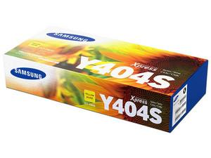 Cartucho de Tóner Samsung Amarillo, Modelo: CLT-Y404S.