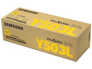 Cartucho de tóner Samsung, Amarillo, Modelo: CLT-Y503L/XAX.