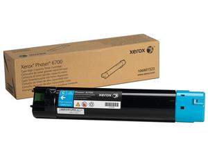 Cartucho de Tóner Xerox Color Cian, Modelo: 106R01523.