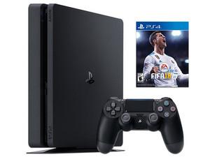 Consola Sony PlayStation 4 con 1 control y FIFA 2018