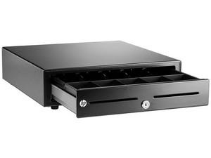 Cajón Básico de Dinero HP QT457AA para punto de Venta.