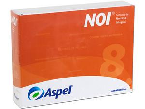 Sistema de Nómina Integral ASPEL NOI 8.0 (Actualización paquete base).