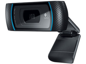 Cámara Web HD Logitech B910, Video 1280x720, Micrófono integrado, USB 2.0.