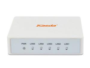 Switch Kasda KS105 de 5 Puertos, 10/100 Mbps.