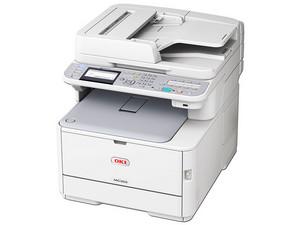 Multifuncional laser a Color OKI MC362W, hasta 25ppm, 1200x600 dpi, escáner, fax, Conectividad Wi-Fi, PCL 6, PCL 5c, PostScript 3, AirPrint, FTP, SMB, USB.