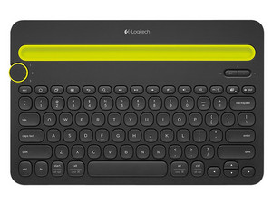 Teclado Bluetooth Logitech K480, Multidispositivo. Color Negro.