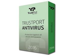 Antivirus TrustPort 2016, 6 Equipos, 1 Año.