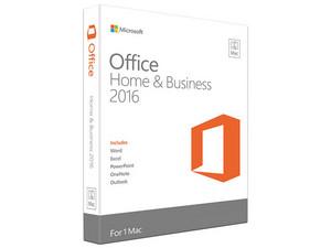 Microsoft Office Hogar y Empresas 2016 para Mac, 1 equipo (Versión en inglés).