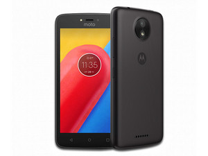 "Smartphone Motorola Moto C: Procesador MediaTek Quad Core (1.1 GHz), Memoria RAM de 1GB, Almacenamiento de 8GB (expandible con microSD), Pantalla 5\""(854x480), Bluetooth 4.2, Wi-Fi, 4G LTE, MicroSIM, Android 7.0 Nougat."