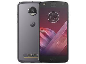 "Smartphone Motorola Moto Z2 Play: Procesador Octa Core 2.2 GHz QUALCOMM, Memoria RAM de 4GB, Almacenamiento de 64GB, (expantible con micro SD), Pantalla OLED 5.5\"" (1920x1080), Bluetooth 4.2, Wi-Fi, 4G, Android 7.0."