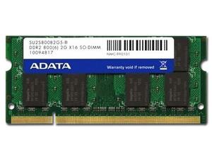 Memoria ADATA SODIMM DDR2 PC2-6400 (800MHz), 2GB