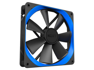 Ventilador NZXTE Aer P de 120 mm. Color Azul.
