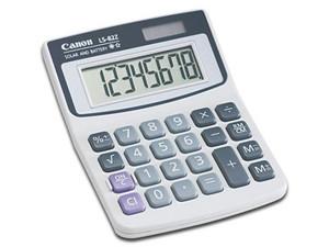 Calculadora de escritorio Canon LS-82Z, 8 dígitos.