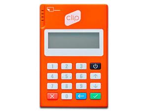 Lector Bluetooth Clip Plus para punto de venta móvil y recibir pagos con tarjeta de crédito o débito en tu celular o tablet.